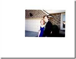 Lisa Burstein's junior prom photo